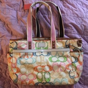 Authentic coach dipper bag